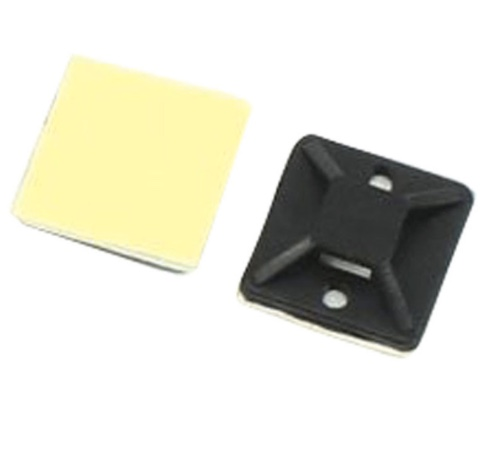Clips Square N-cable Black - dataprint.vn.ua