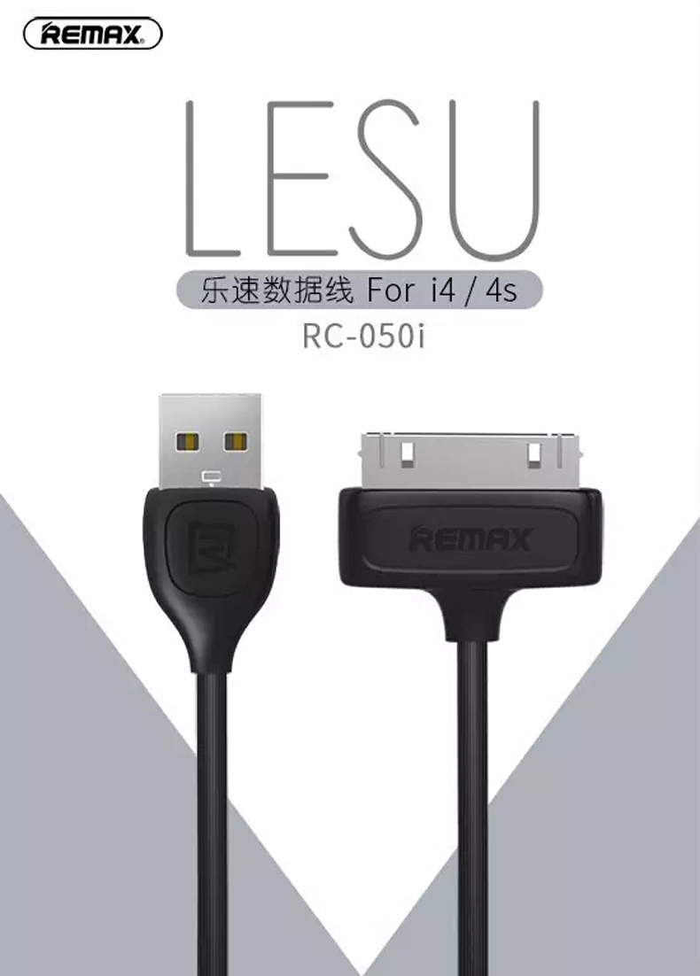 Remax Lesu 30pin RC-050i Black - dataprint.vn.ua