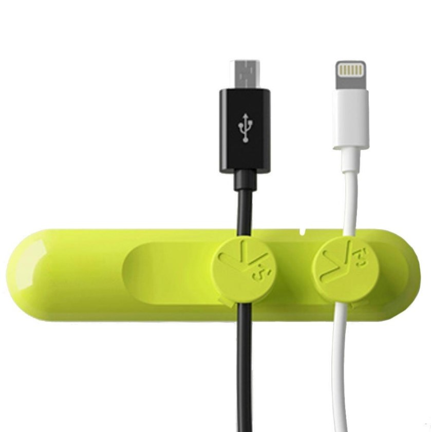 Clips Magnetic 3-cable Green - dataprint.vn.ua