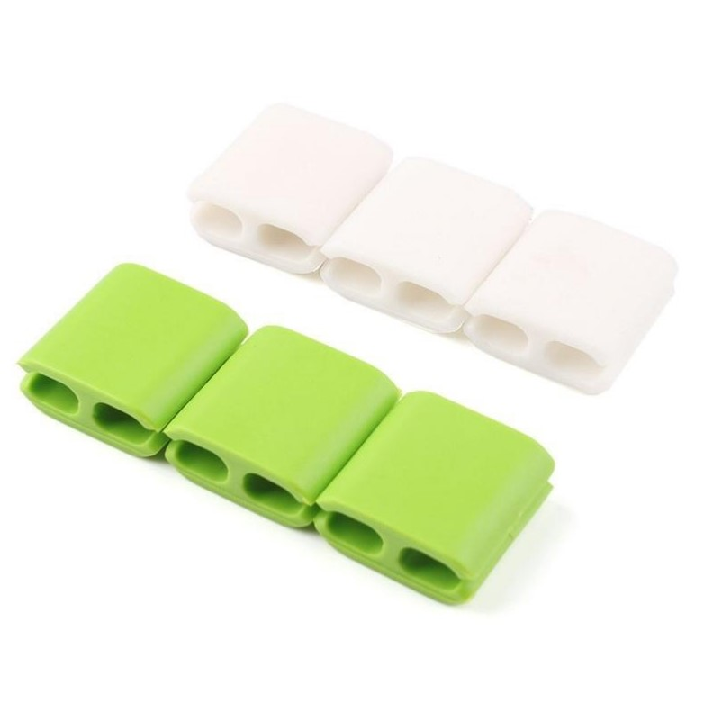 Clip Holder Square White - dataprint.vn.ua